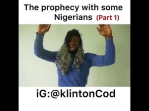 Video: KlintonCod – The Prophesy With Some Nigerians Part 1
